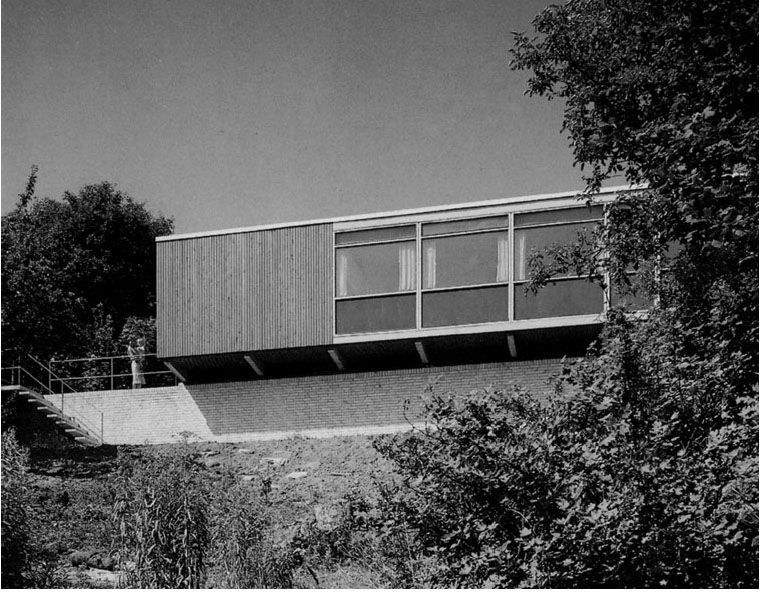 House Of The Day Siesby House By Arne Jacobsen Http Www