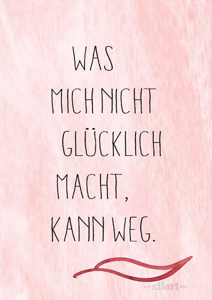 happy write} Kann weg   Zitate   Quotes, German quotes und Quotations