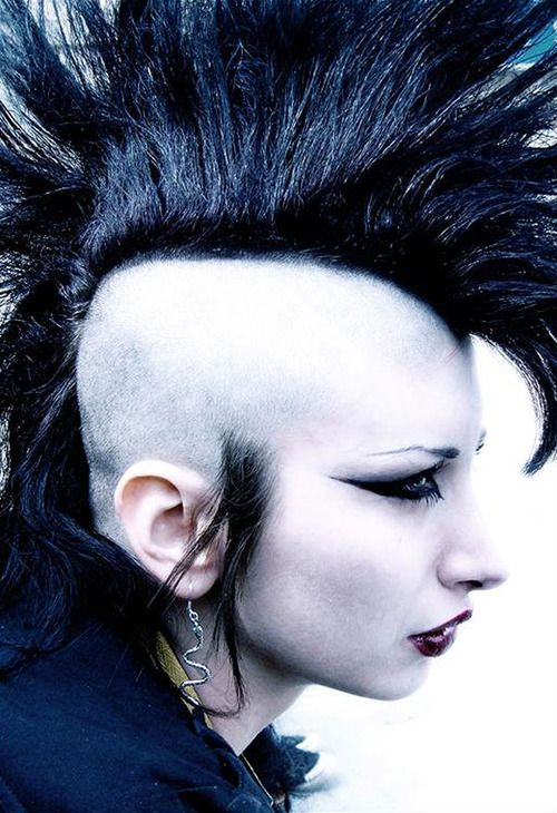 I Should Try And Spike My Deathhawk Like Thissss Hairstyles In