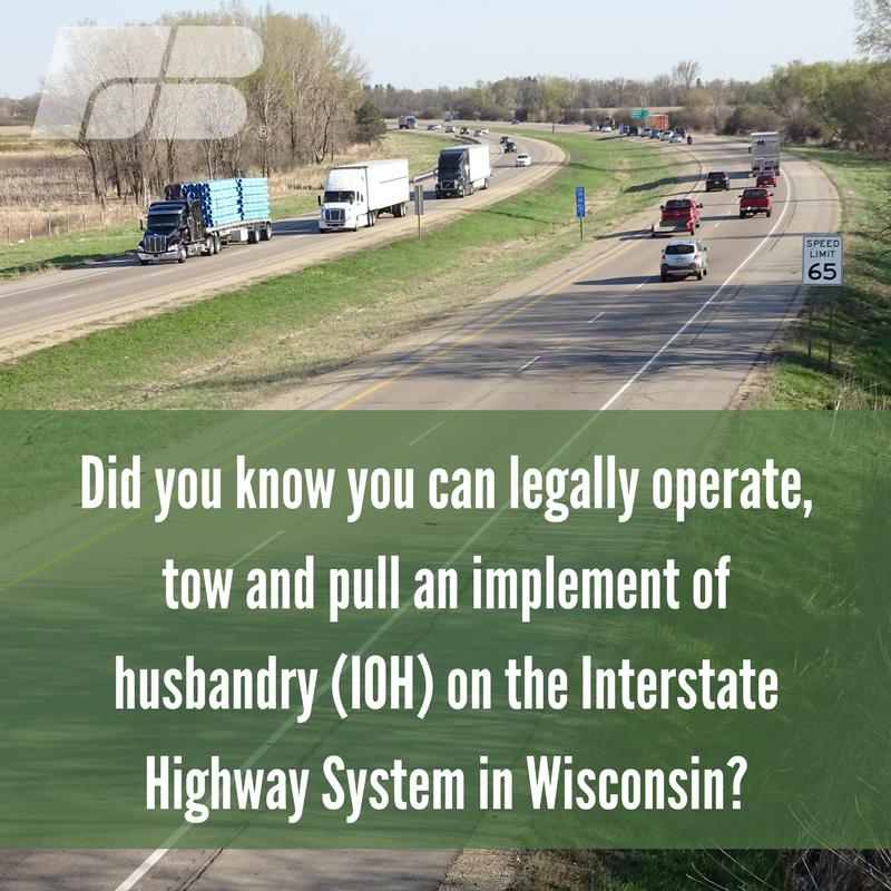 Pin By Wisconsin Farm Bureau On Farm Safety Interstate Highway