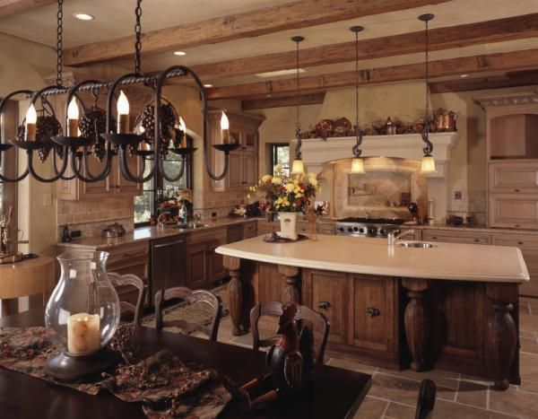 Colonial Kitchen Pictures Lovetoknow Country Kitchen Designs Country Style Kitchen Spanish Style Kitchen