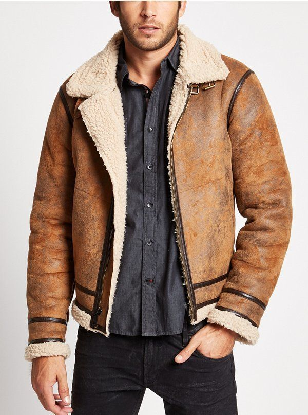Railroad Faux-Shearling Jacket   Rugged Rascal - The Stylish Man ...