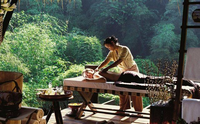 Outdoor Massage Bali | spa | Luxury tents, Four season tent, Luxury