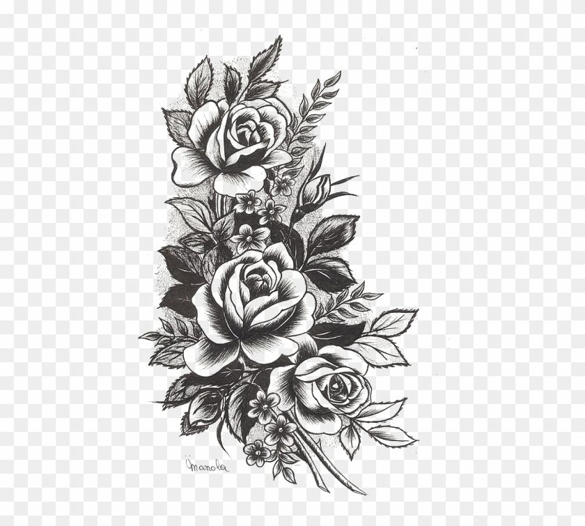 Rose Tattoo Transparent Png Stickpng Free Png Archive Feather Tattoo Design Geometric Rose Tattoo Vintage Flower Tattoo