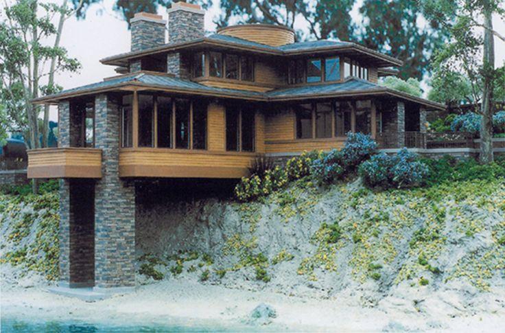 Pin By Robert Hoadley Latourette On Eden Rock Prairie Style Houses Prairie Style Architecture Prairie House