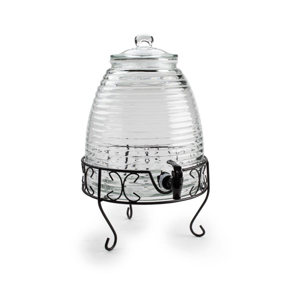 df77780e040 Core 2.4 Gallon Glass Beverage Dispenser with Metal Stand - 12