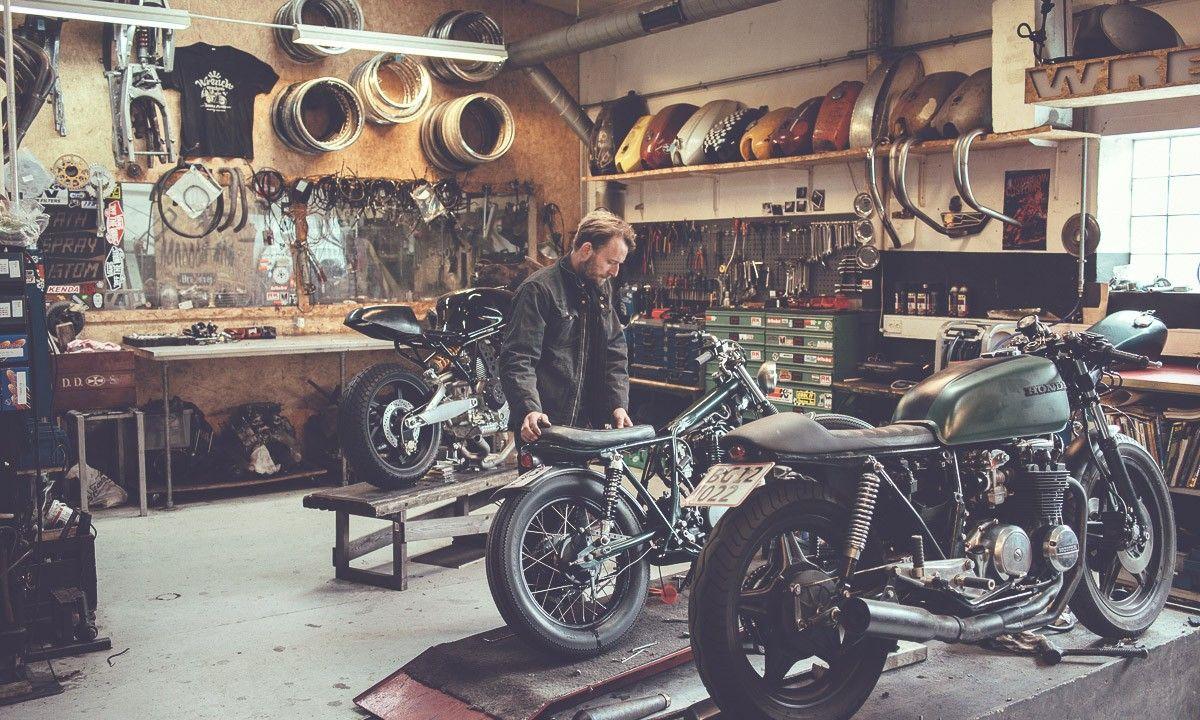 Wrench Monkees Atelier Moto Amenagement Garage Garage