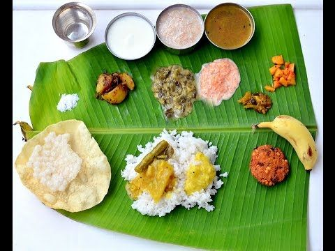 South indian veg lunch preparation first time detailed explanation food forumfinder Gallery