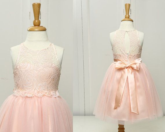 Hey, I found this really awesome Etsy listing at https://www.etsy.com/listing/240721403/pink-flower-girl-dress-lace-toddler-girl