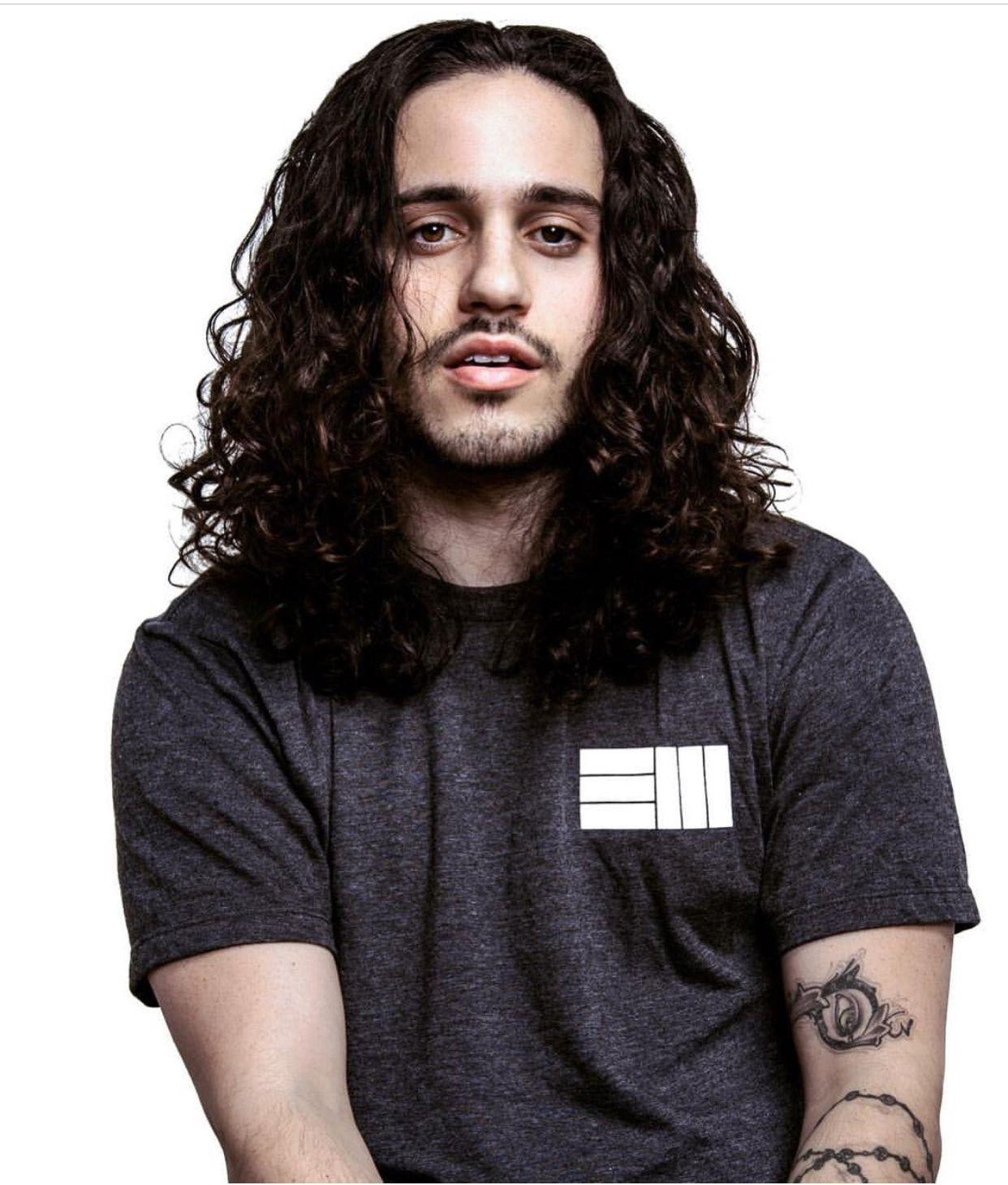 Russ By Cawaa Russ Rapper Long Hair Styles Men Beautiful Men Faces