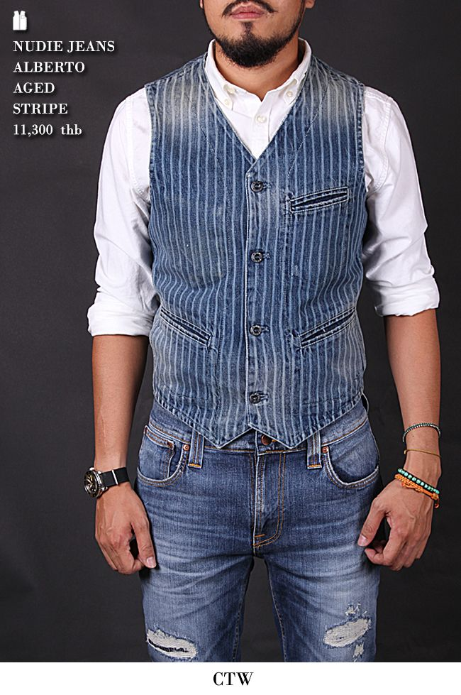 fd4a98bd1e721c Love the waistcoat, not the jeans though. The vest is what makes the outfit.