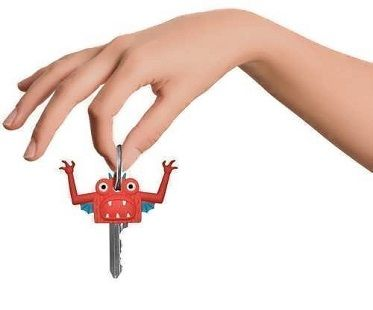 monster key covers red