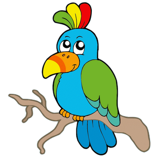 Funny Cartoon Bird 2 Gif 320 320 Cartoon Birds Bird Pictures Art Pages