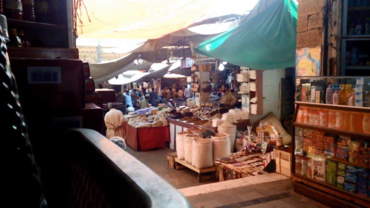 Empress Market the main market at Saddar, Karachi is one
