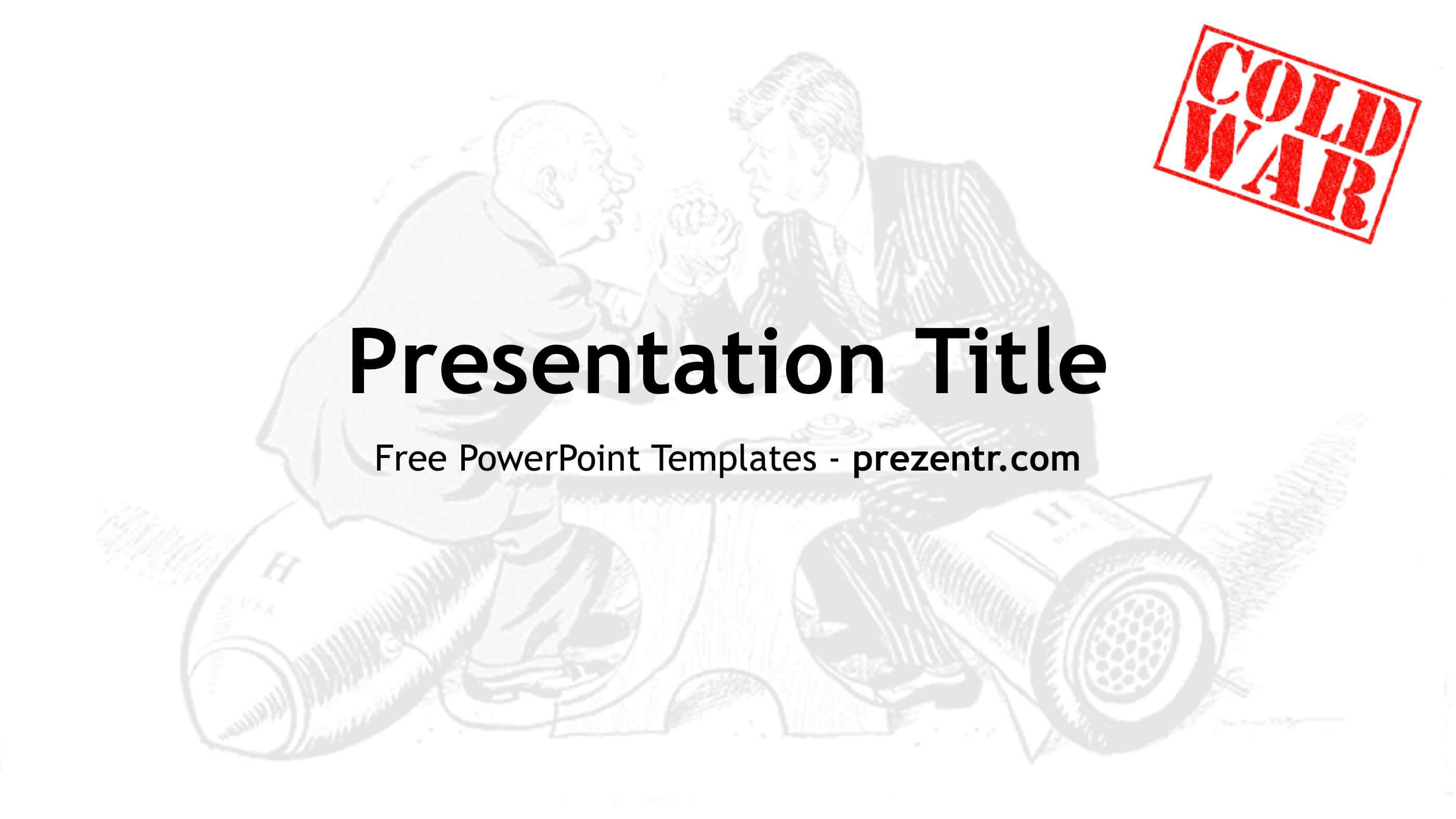 Free Cold War Powerpoint Template