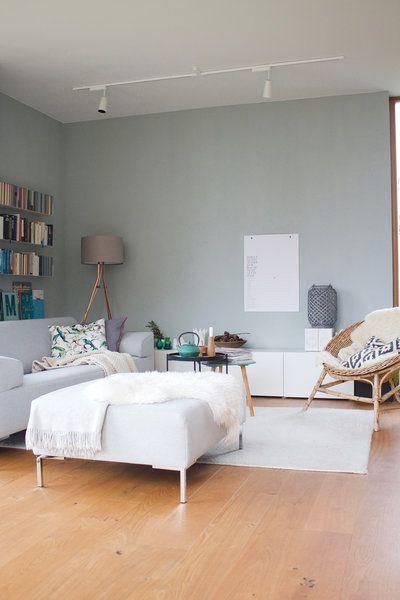 Neues wagen: Wunderschöne Wandfarben-Ideen aus der Community #wanddekowohnzimmer