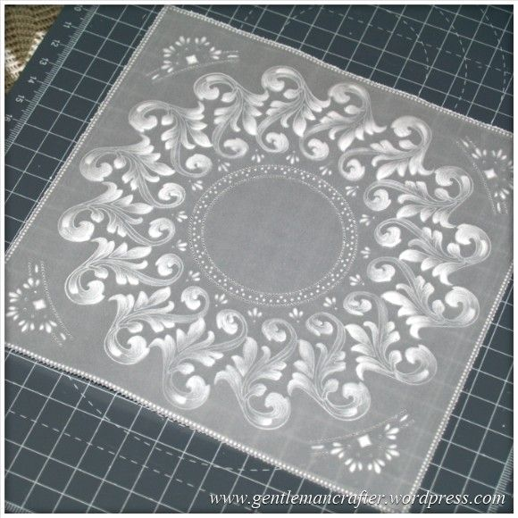 You may have recently seen in my post about UFOs that I had made a start with an idea that I had a while back about using the Inkadinkado Stamping Gear together with Parchment Craft. This post will...