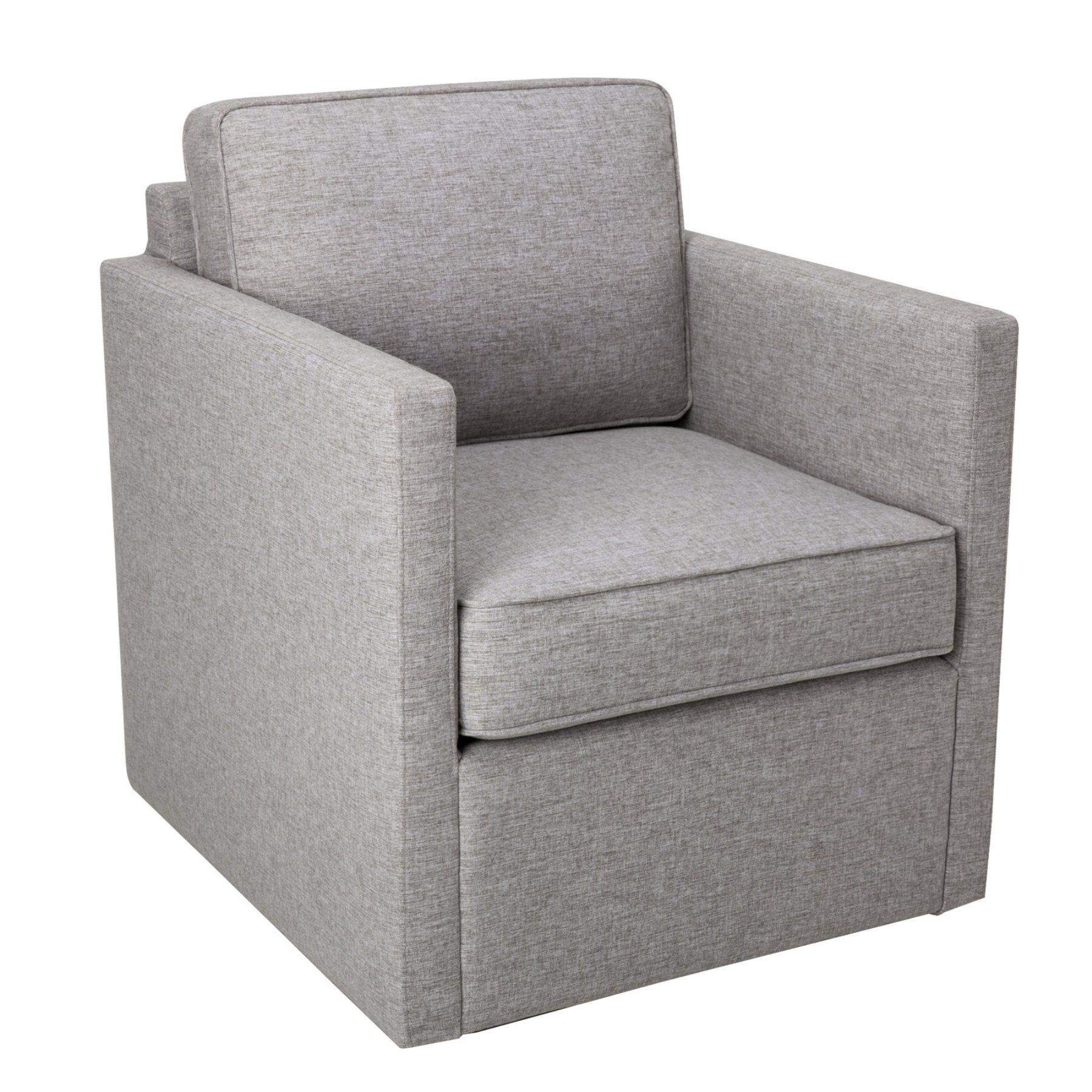 Homepop Accent Chair With Swivel Base Swivel Armchair Homepop