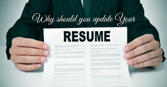why update your resume Interview Tips Pinterest - how to update your resume