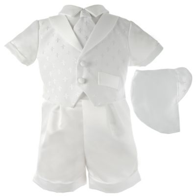 b6aa5c687 Lauren Madison 9-12M Christening Short And Hat Set | Products ...