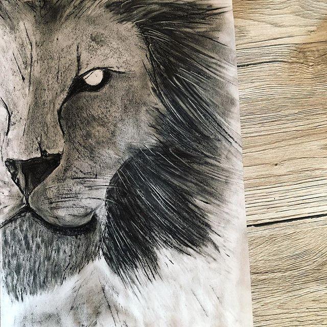 Soucasti Vystavy Bude I Koutek Pro Me Kresby Tento Lev Je Kresba
