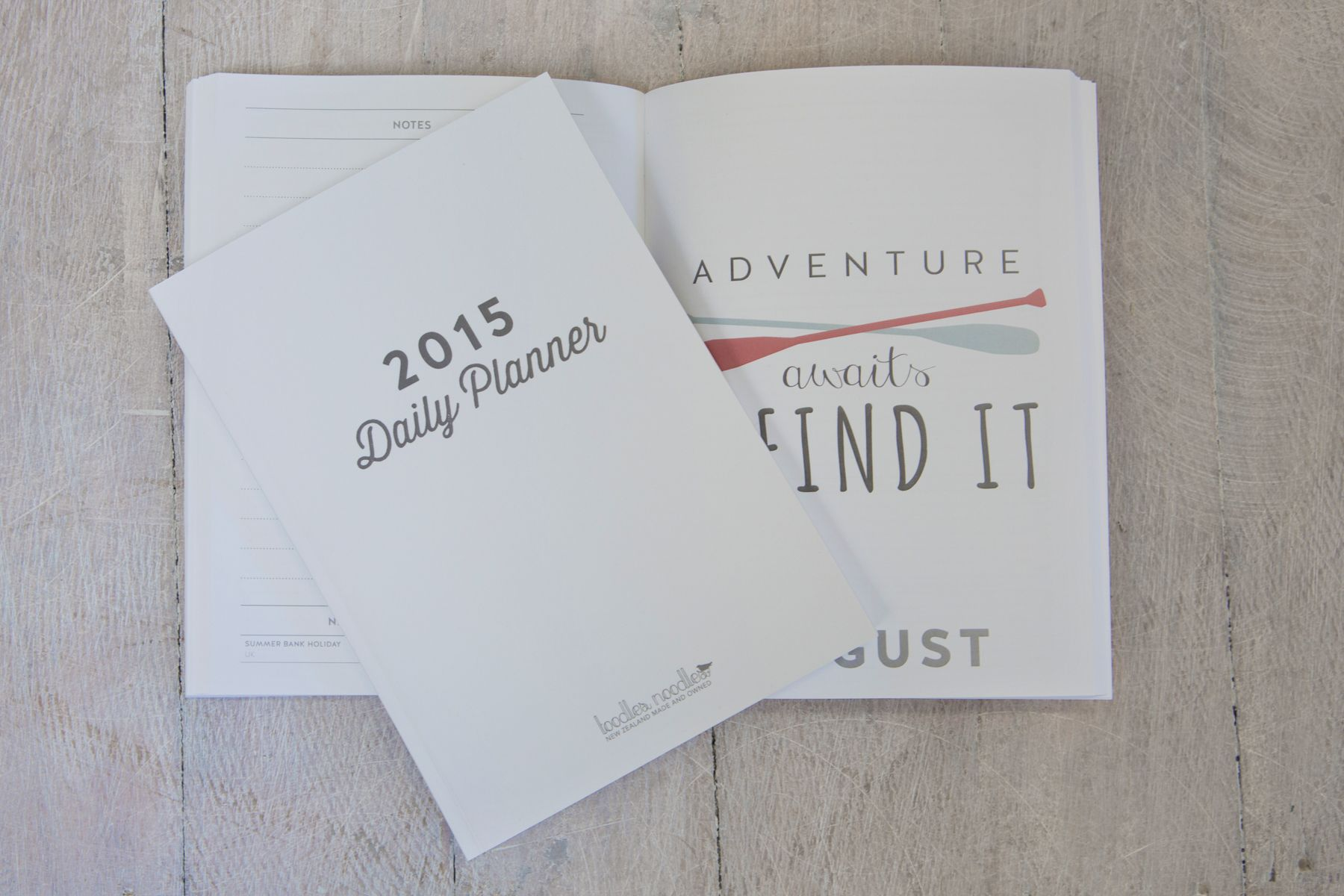 great stocking stuffer idea - 2015 daily planner diary from @tootsnoots