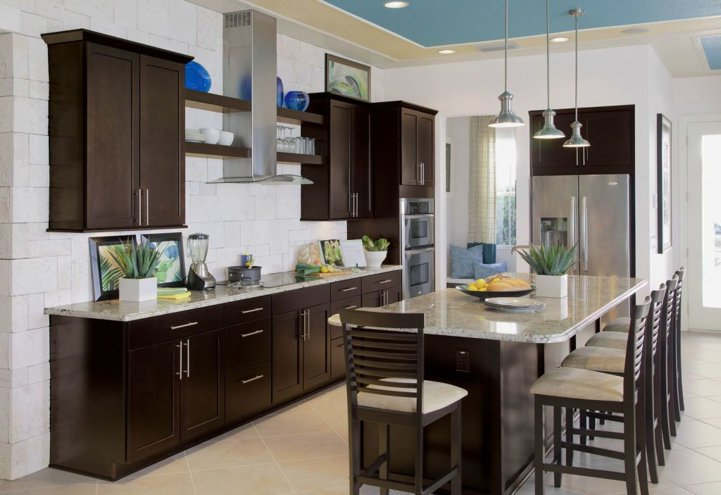 espresso paint color for kitchen cabinets espresso colored kitchen