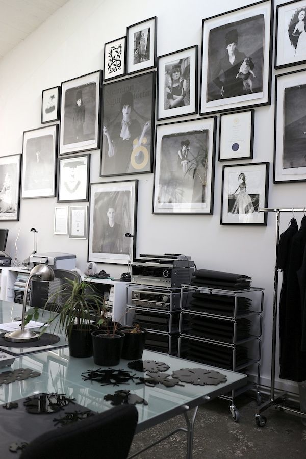 Black & white wall gallery