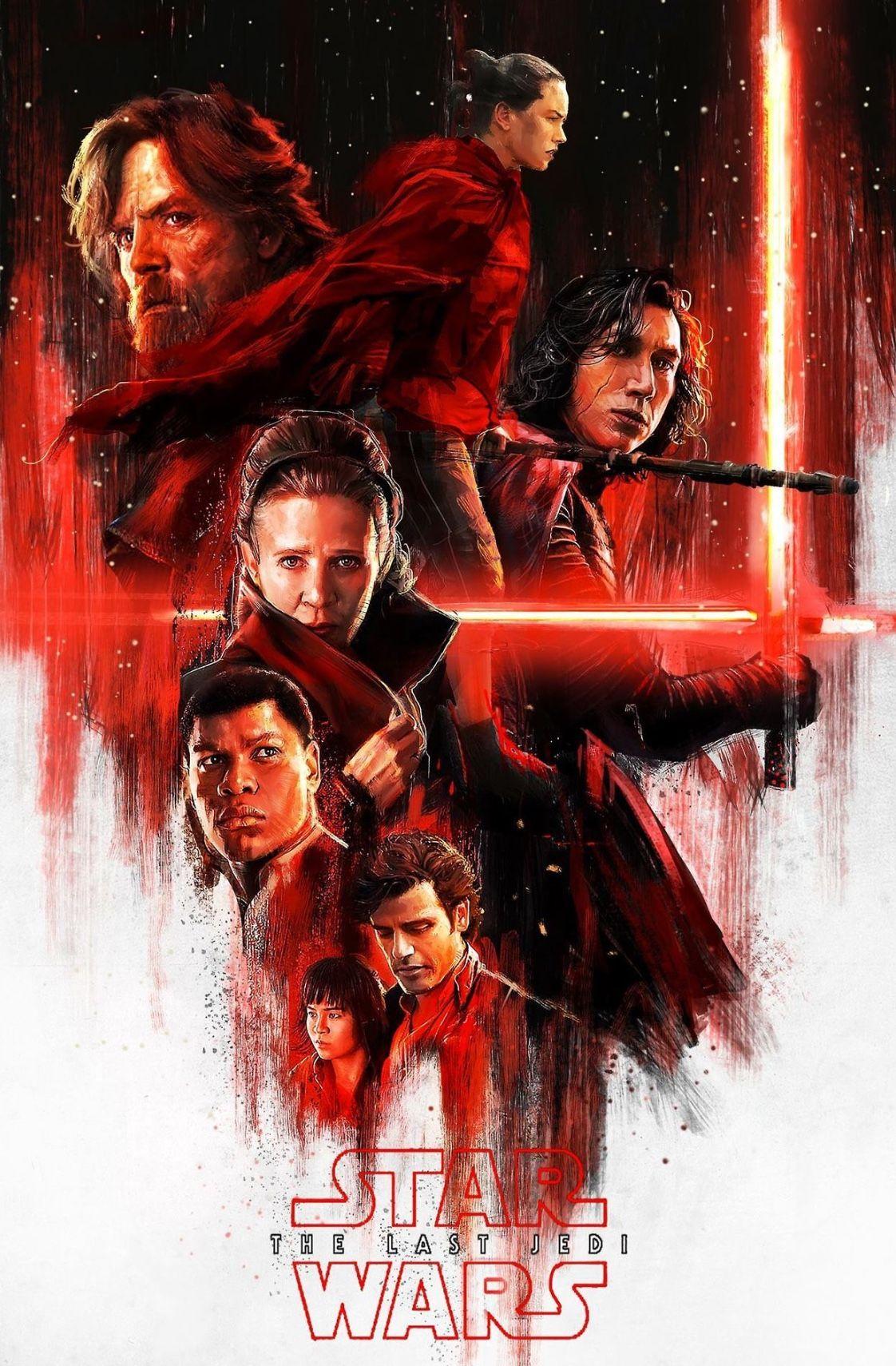 Star Wars The Last Jedi Star Wars Poster Star Wars Art Star Wars Wallpaper