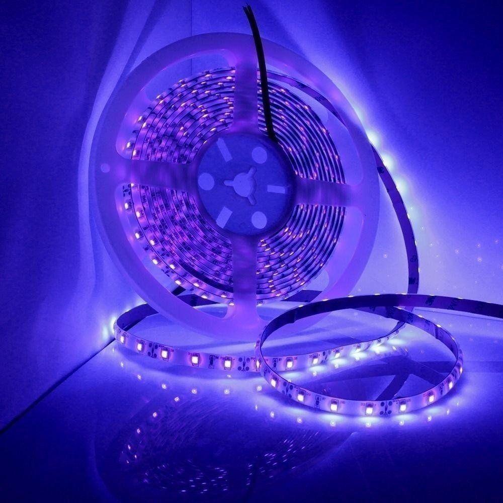 Uv Ultraviolet Black Light Led Strip Light Waterproof Ip65 Bande