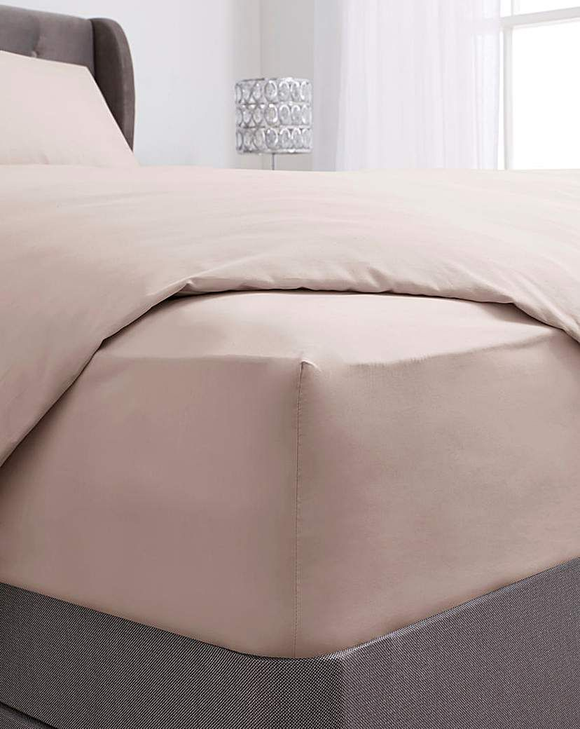 100 Cotton 38cm Extra Deep Fitted Sheet In 2021 Pink Saved Items Cotton