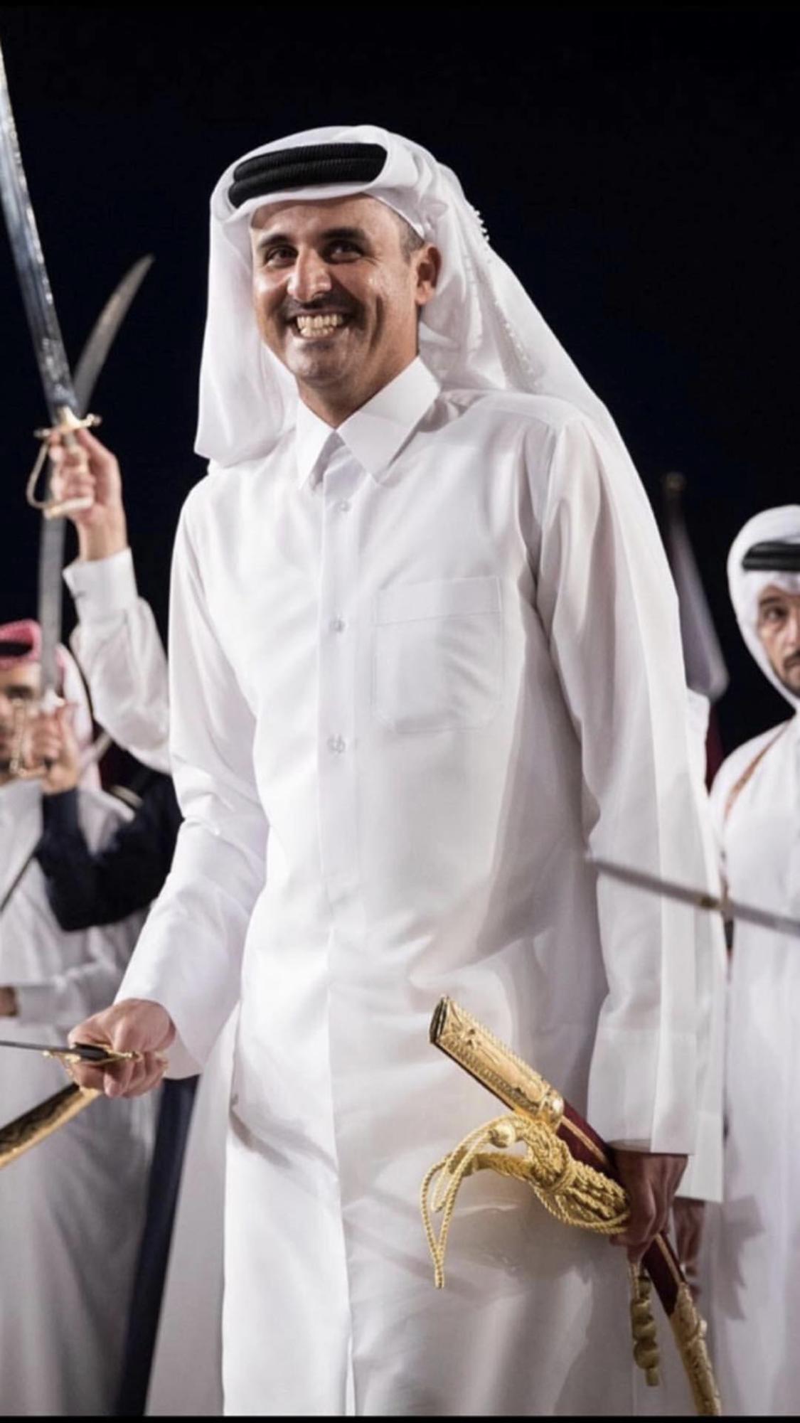 الامير الشيخ تميم بن حمد بن خليفه آل ثاني حفظه الله Qatar قطر Chef Jackets Fashion Love Quotes