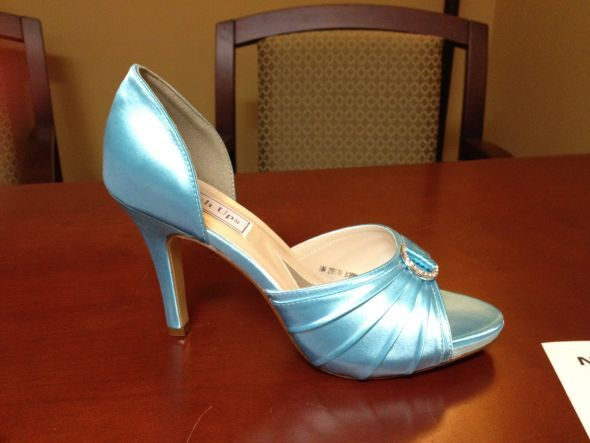 Baby Blue Shoes!! (with A Special Story Behind Them)!