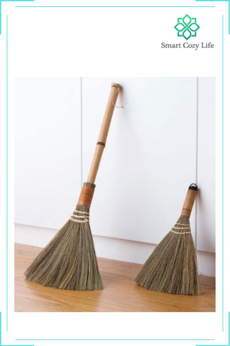 Wood Floor Sweeping Broom Smart Cozy Life In 2020 Cleaning Wood Floors Sweeping Broom Soft Broom