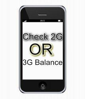 Check Internet Balance And Data Usage On Mobile 3g Mobile Internet Internet Plans