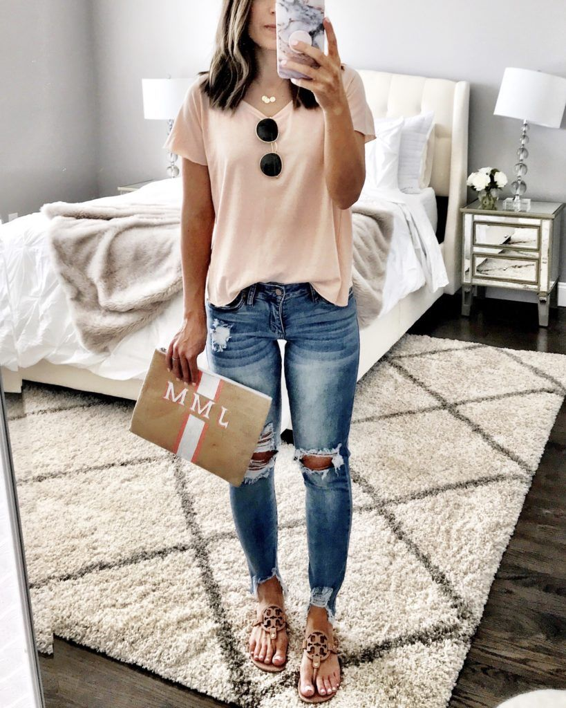 Total cute ripped jeans