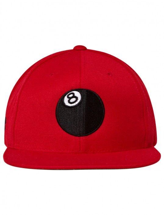 8 Ball Script Snapback Ballcap #8ball #snapback #stussy | 8 Ball