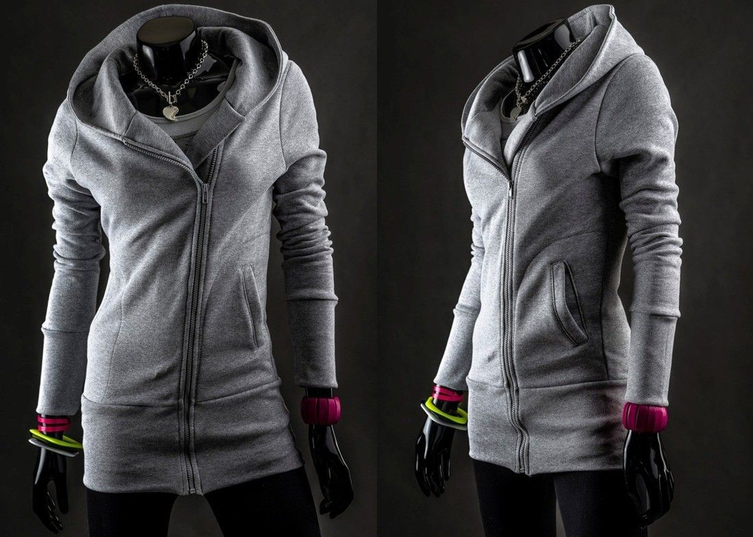 Bolf 16 Szary Szary Ona Bluzy Damskie Denley Odziezowy Sklep Internetowy Odziez Ubrania Plaszcze Kurtk Leather Jacket Athletic Jacket Jackets