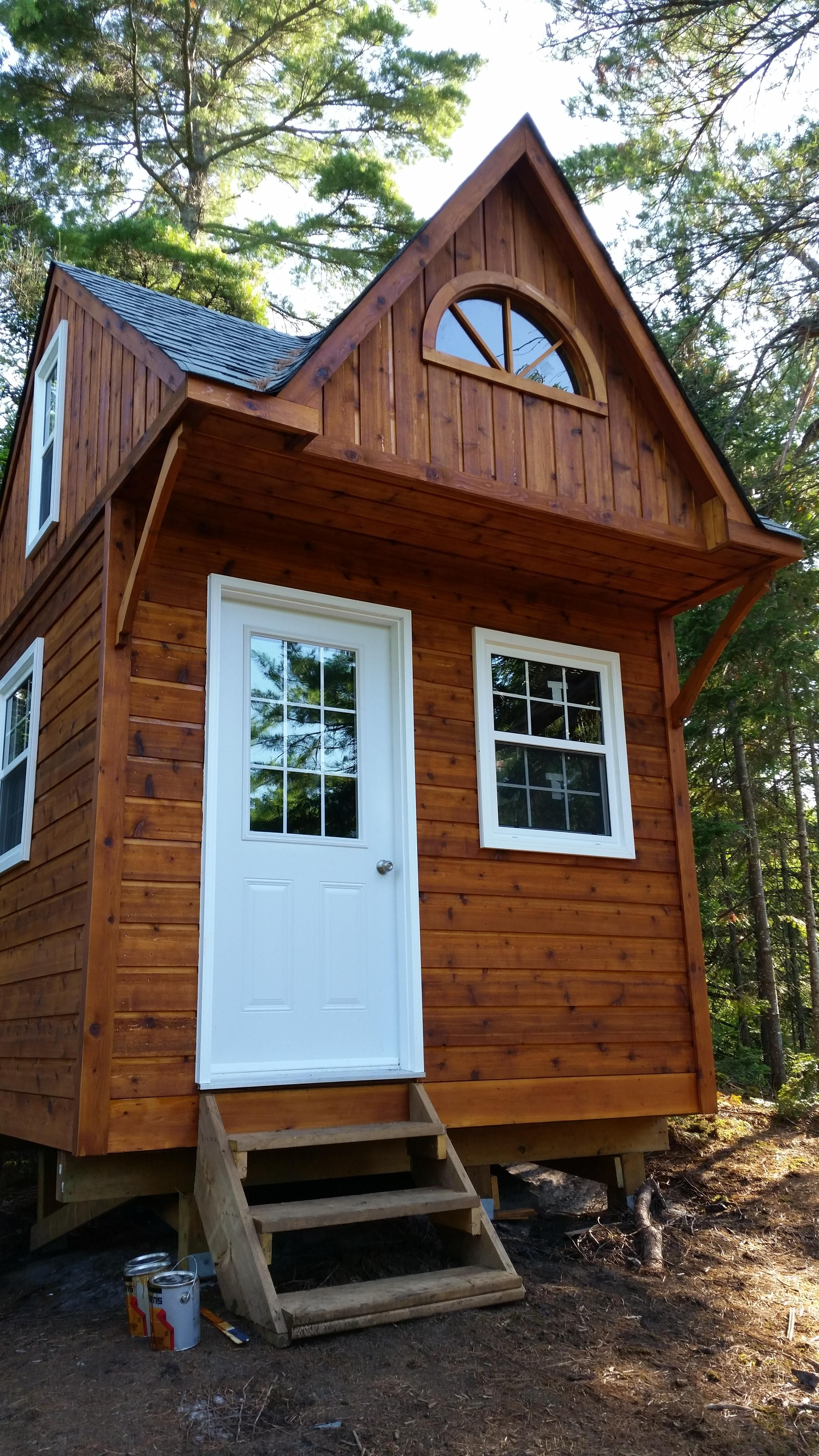 This 10x10 Glen Echo shed/cabana designed for an Ontario ...