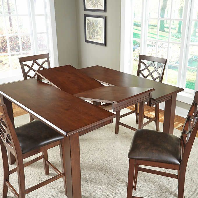 Shayne 5 Piece Counter Height Dining Set Counter Height Dining
