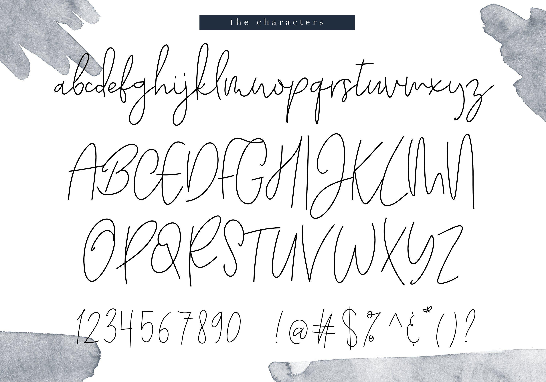Kate Johnson Signature Font Ad , AD, ALTunderlining