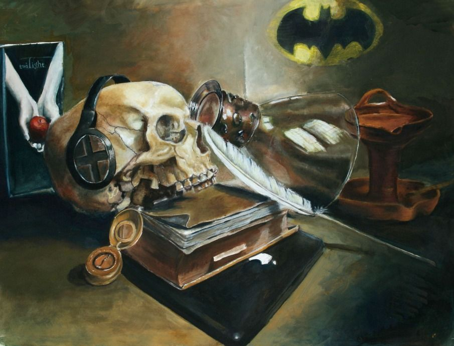 Modern Vanitas-Scholastic HONORABLE MENTION Award - Ben ...
