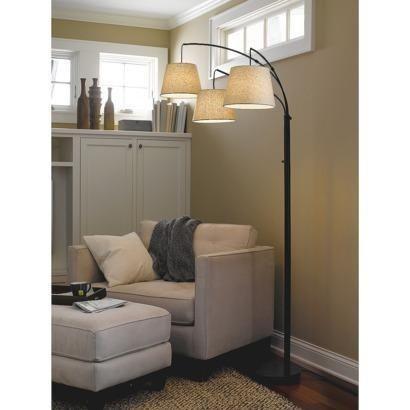Threshold™ 3-Arm Arc Floor Lamp | Pins You Love | Pinterest ...