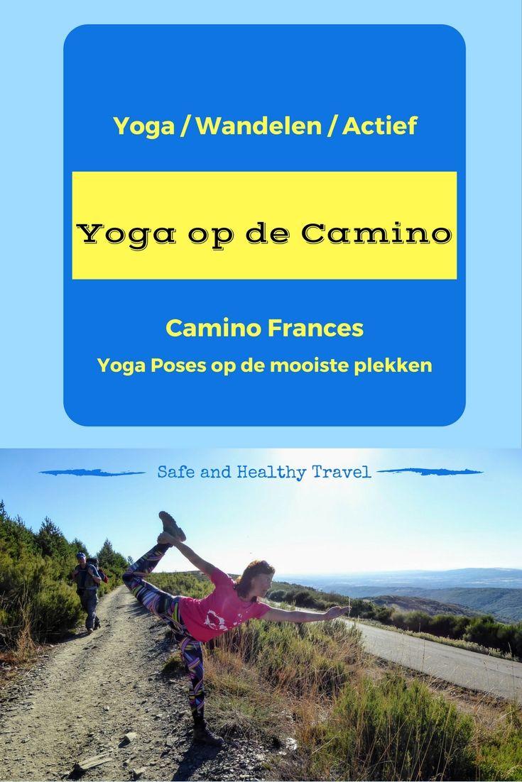 Wat is er nu leuker dan Yoga Poses doen op de mooiste plekken waar je komt? Dus ook toen ik de Camino liep stond ik regelmatig op mijn hoofd :)