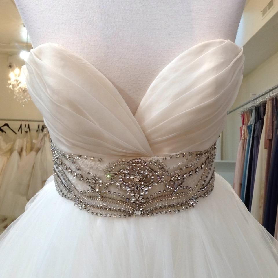Ivory tulle traditional wedding dress traditional wedding
