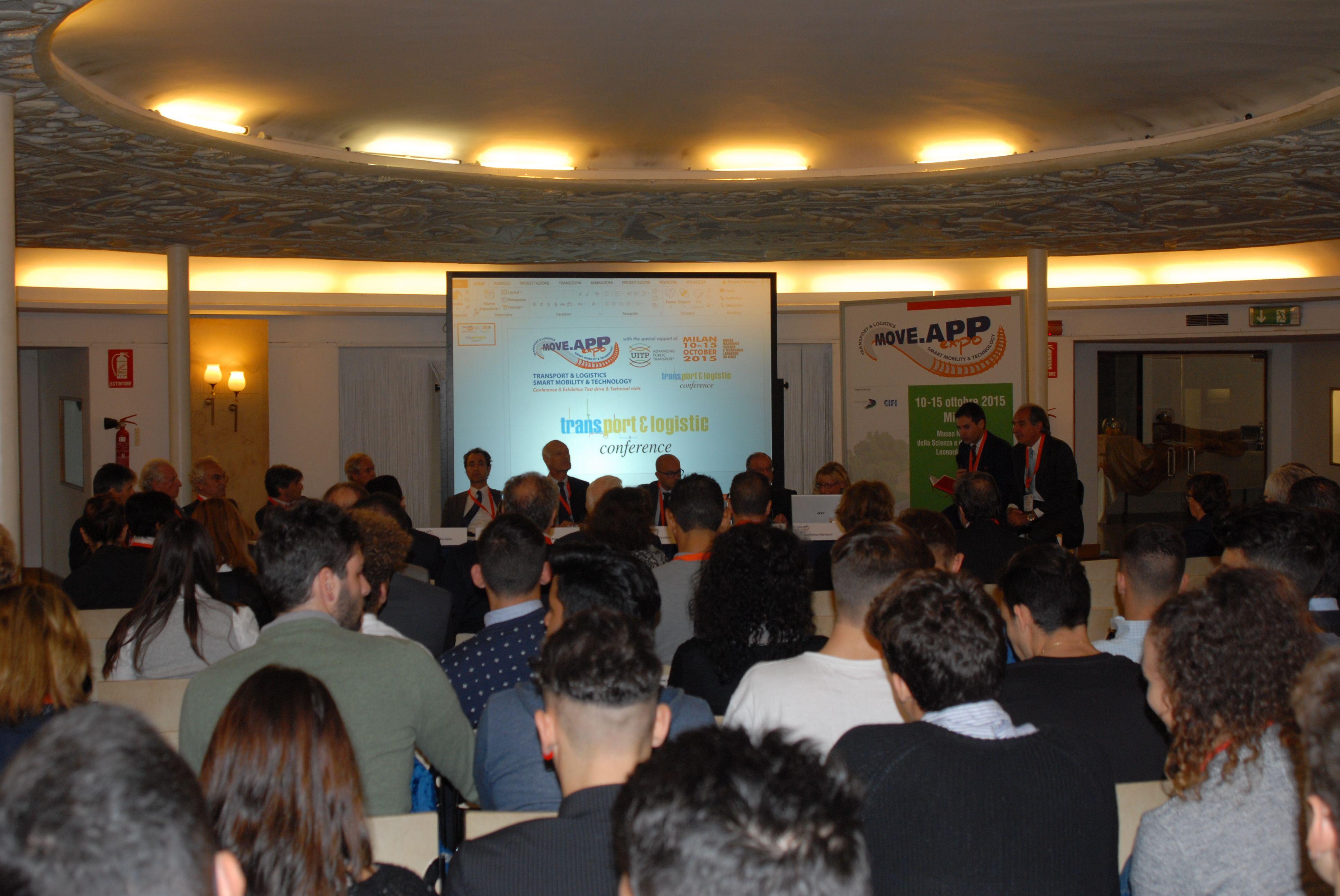 14 ottobre 2015 alla terza edizione del Move.App Expo la Transport & Logistic Conference in collaborazione con Telenord