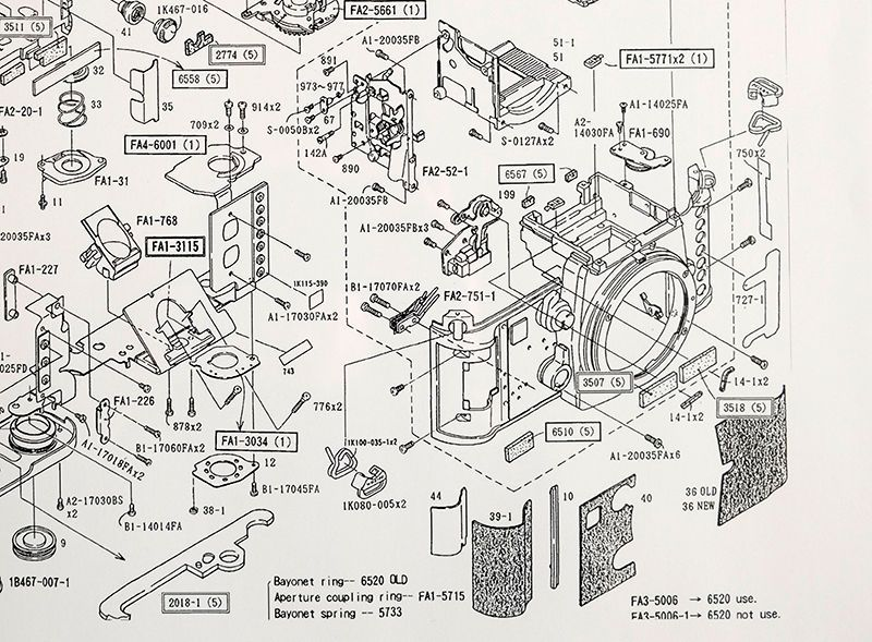 Insanely Detailed Diagram Of A Classic Nikon Slr S Guts In 2020 Nikon F3 Vintage Cameras Art Nikon
