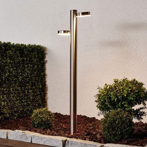 Toriba – gatelampe med LED-lys og jordspyd-Gatebelysning LED-9945029-22