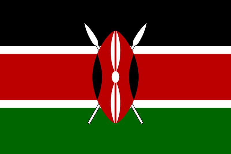 Ficheiro Flag Of Kenya Svg Wikipedia A Enciclopedia Livre Kenya Bendera Lambang Negara