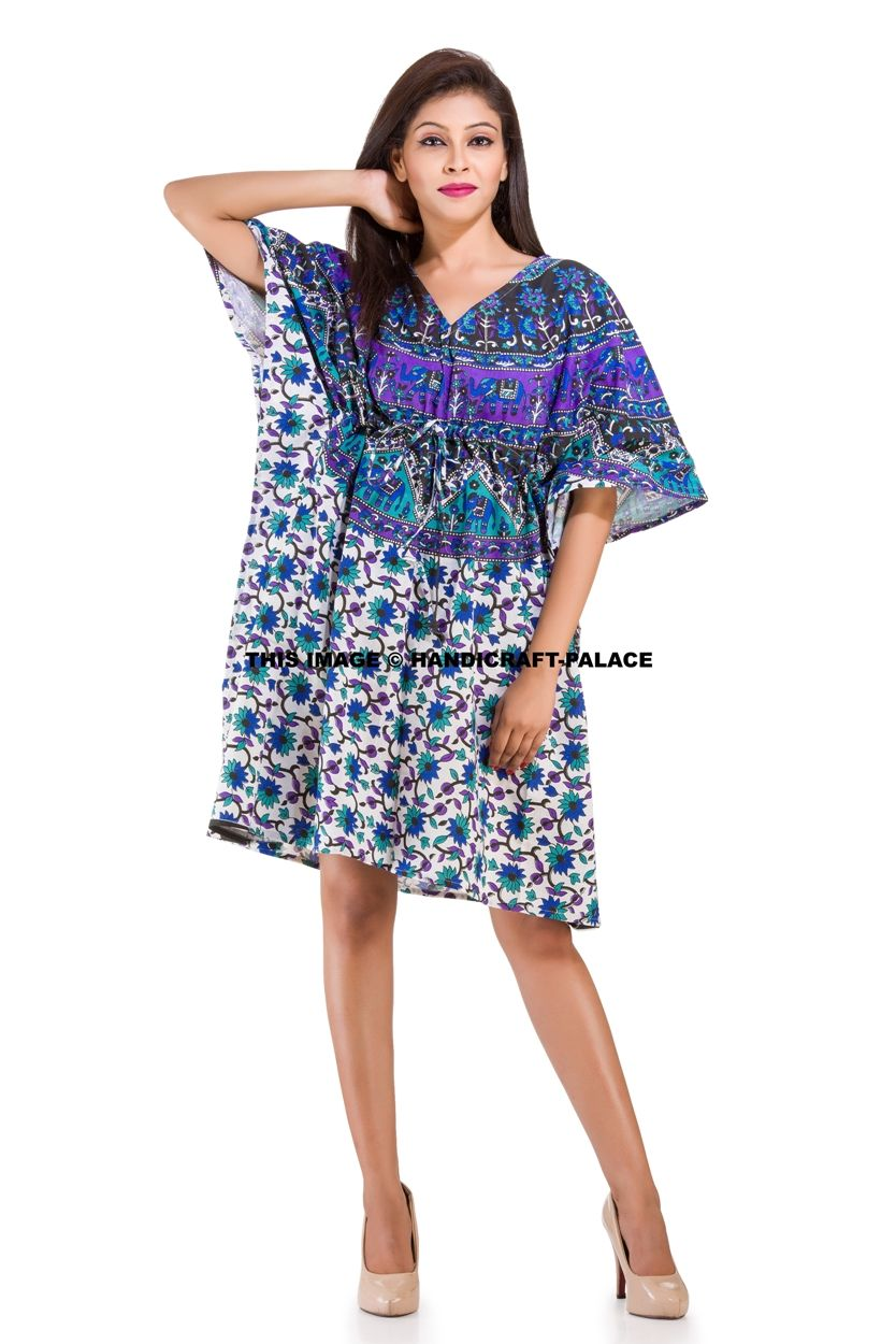 e0adfc81c796e Mandala Kaftan Dress | Ethnic Indian Stuff to Buy | Dresses, Beach ...